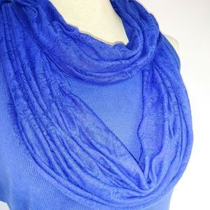 Accessories - LAPIS Jersey Infinity Scarf #hundredsofscarves